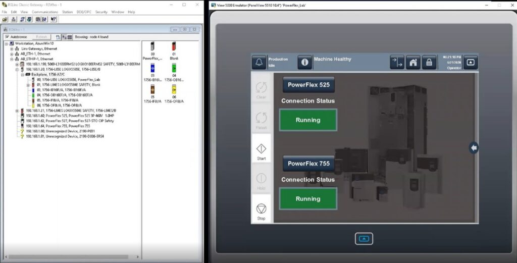 Premier Integration between Rockwell Automation ControlLogix controllers and PowerFlex VFDs