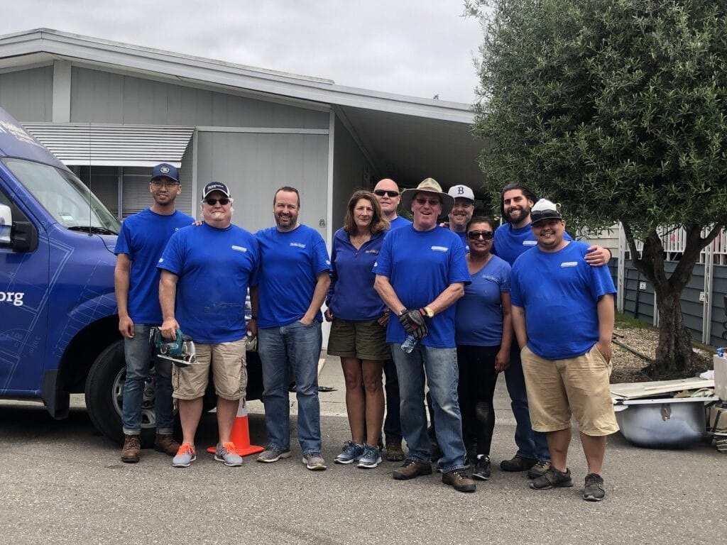 Buckles-Smith Volunteers to Help the Local Community