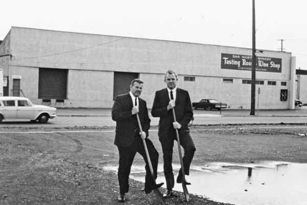 Buckles-Smith groundbreaking historical photo