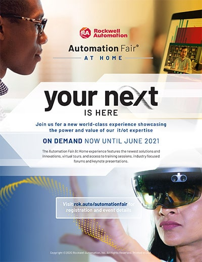 Automation Fair 2021 Flyer