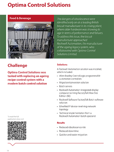 Digital Transformation Case Study Optima Control Solutions