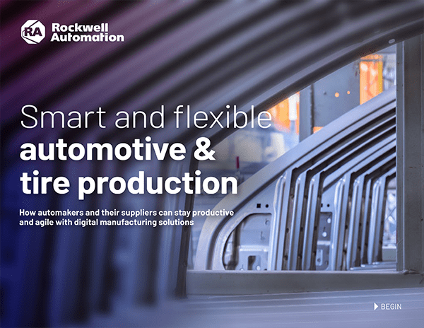 Smart and flexible automotive & tire production ebook
