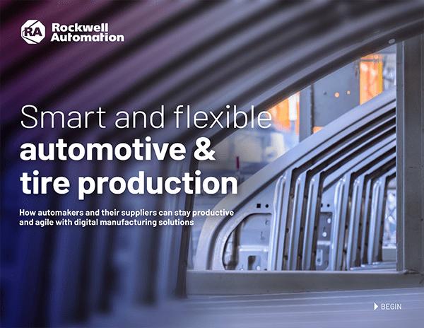 Smart and flexible automotive & tire production ebook
