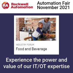 Automation Fair 2021 Food & Beverage Industry Forum