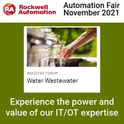 Automation Fair 2021 Water/Wastewater Industry Forum